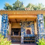 Barbacoa y horno de Casa Los Pedroches
