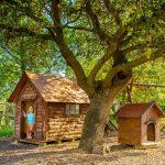 Casita de madera en Casa los Pedroches