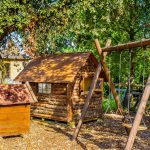 Mini parque de niños en Casa los Pedroches