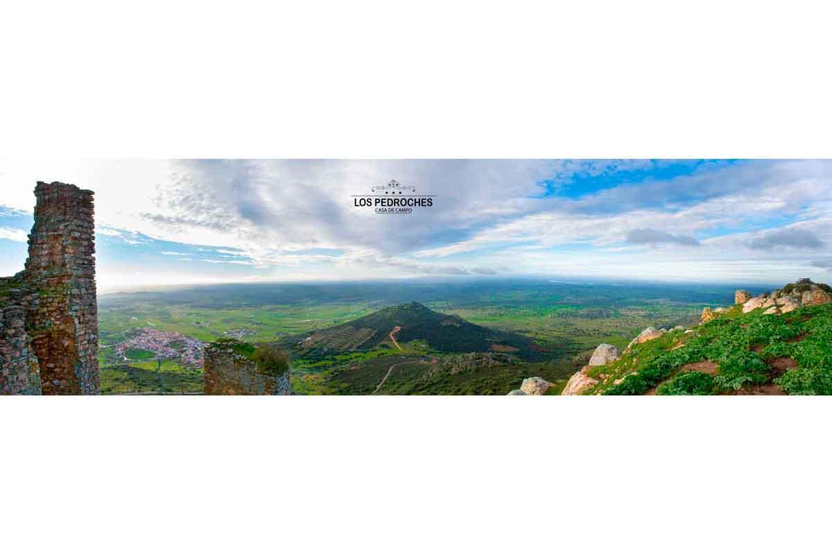 Panorámica del valle de los Pedroches