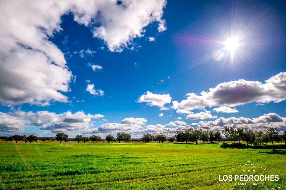 Nubes sobre el valle de los Pedroches