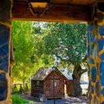 Vista cabaña casa los Pedroches